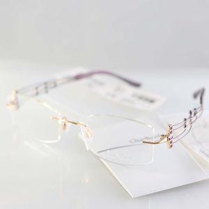 NWOT eyeglasses Charmant XL2009 Purple, Japan